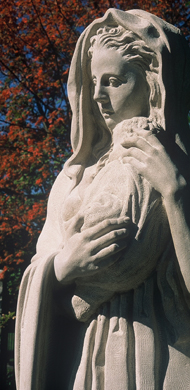 Madonna and Child Sculpture